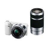 SONY デジタル一眼カメラ「NEX-5T」ダブルズームレンズキット(ホワイト) NEX-5TY-W