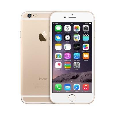 Apple iPhone6 128GB A1586 ゴールド MG4E2J/A